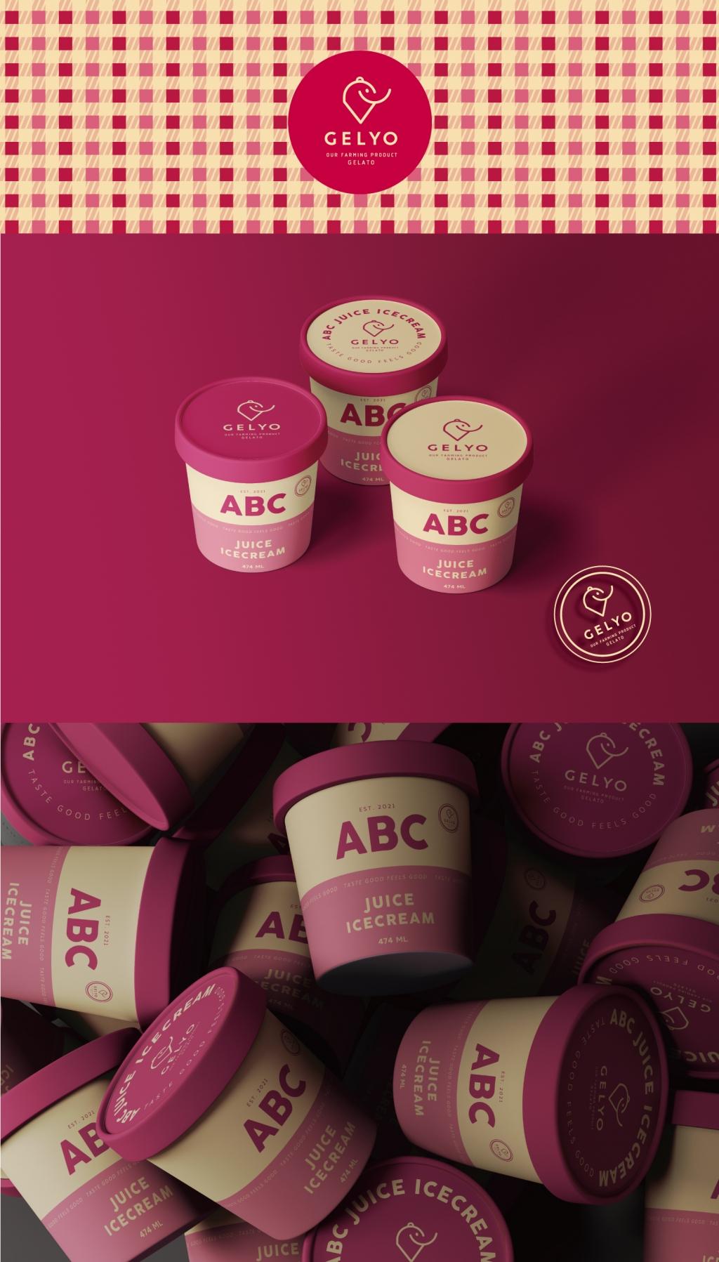 패키지 디자인 | 젤요 ABC샤베트 아이스크림 신제품 패키지 의뢰 | 라우드소싱 포트폴리오