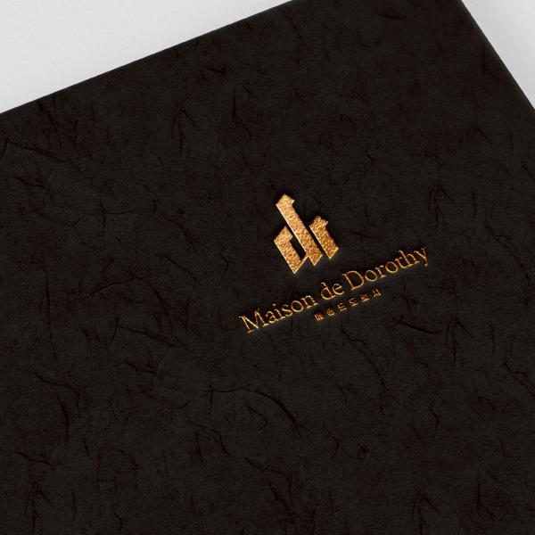 로고 | Maison de Dorothy 로고 디자인 의뢰 | 라우드소싱 포트폴리오