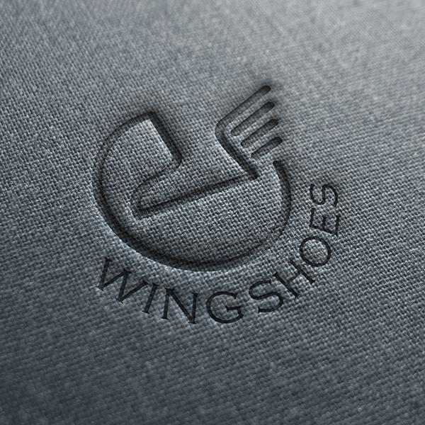 로고   wing shoes 로고 디자인 의뢰   라우드소싱 포트폴리오