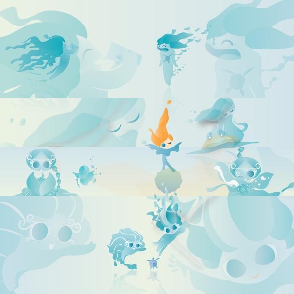 캐릭터   풀무원샘물 어린이 음료용 만화 캐릭터 공모   라우드소싱 포트폴리오