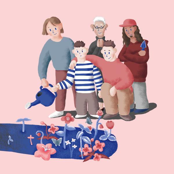 포스터 / 전단지   [서울시 희망광고] 희망을 꽃피우는 아이가 '너였으면 좋겠어'   라우드소싱 포트폴리오
