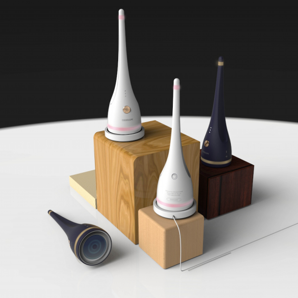 제품/3D | 무선 두피진단 카메라 제품 디자인 | 라우드소싱 포트폴리오. title=