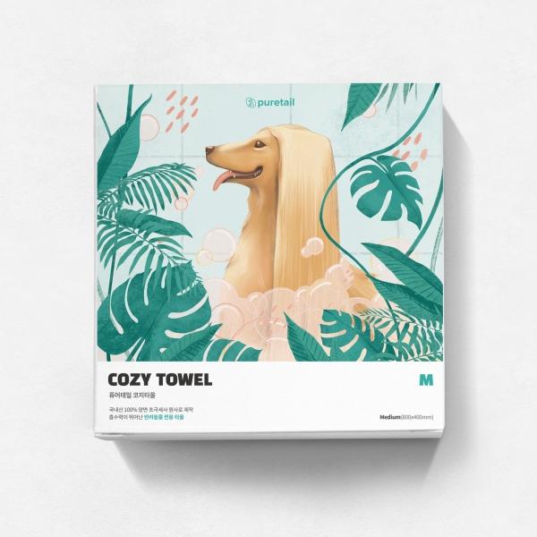 패키지 | 반려동물 펫타올 패키지(단상자) 디자인 | 라우드소싱 포트폴리오