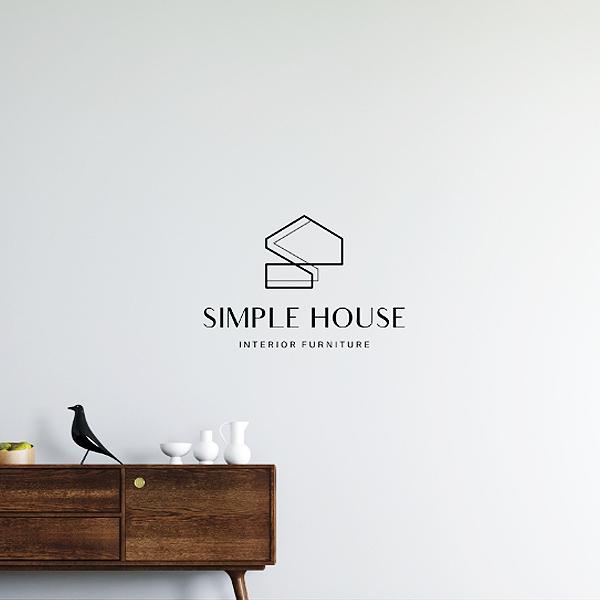 로고 | SIMPLE HOUSE 로고디자인 | 라우드소싱 포트폴리오