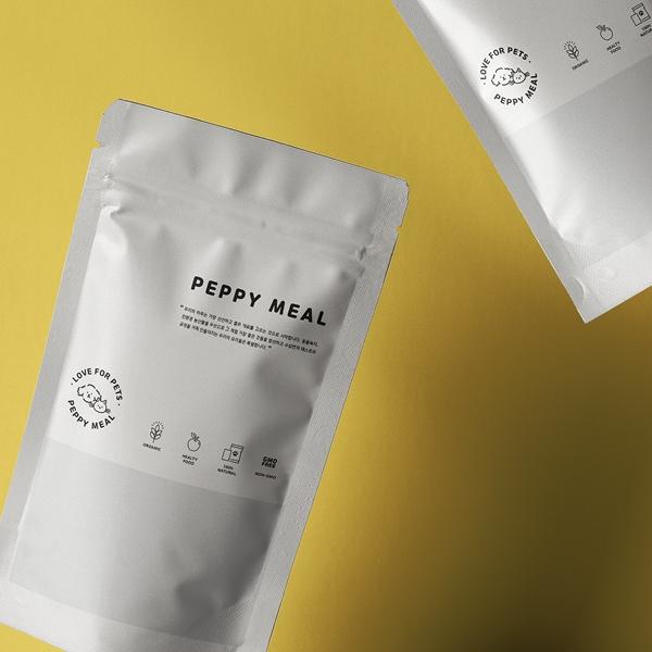 패키지 | 반려동물 식품 지퍼파우치 디자인 의뢰 | 라우드소싱 포트폴리오