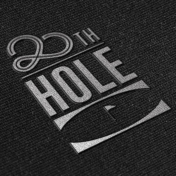 로고 | 20TH HOLE  글씨 폰트 디자인 | 라우드소싱 포트폴리오