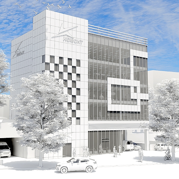 기타 | [코몽트 건물외관 컨셉디자인 의뢰] | 라우드소싱 포트폴리오