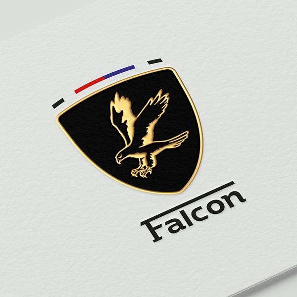 브랜딩 SET | Falcon 투자 금융업종 회사 로고 제작을 의뢰합니다. | 라우드소싱 포트폴리오