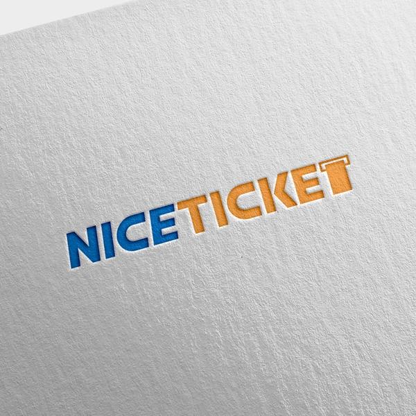 로고 | 나이스티켓 로고 디자인 의뢰 | 라우드소싱 포트폴리오