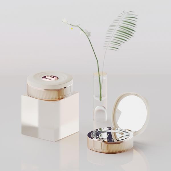 제품 | 다이얼 방식 콤팩트 화장품용기(쿠션팩트용기) 제품 | 라우드소싱 포트폴리오