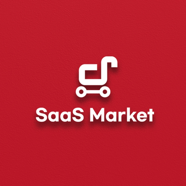 로고 | SaaS Market 브랜드 로고 디자인 | 라우드소싱 포트폴리오