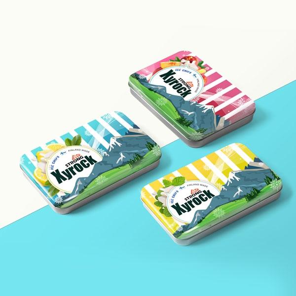 패키지 | [자일락] 자일리톨 사탕 패키지 디자인 | 라우드소싱 포트폴리오