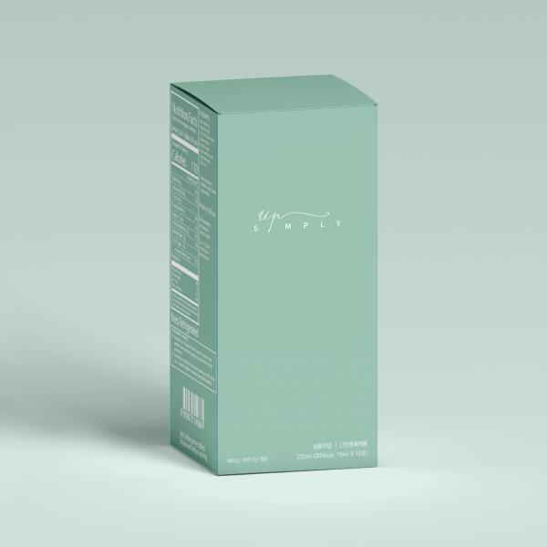 패키지 | 이너뷰티 브랜드 [심플리업] 신제품 '심플리업' 패키징 디자인 | 라우드소싱 포트폴리오