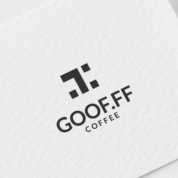 로고 + 명함 | 구프커피 로고 디자인 의뢰 | 라우드소싱 포트폴리오
