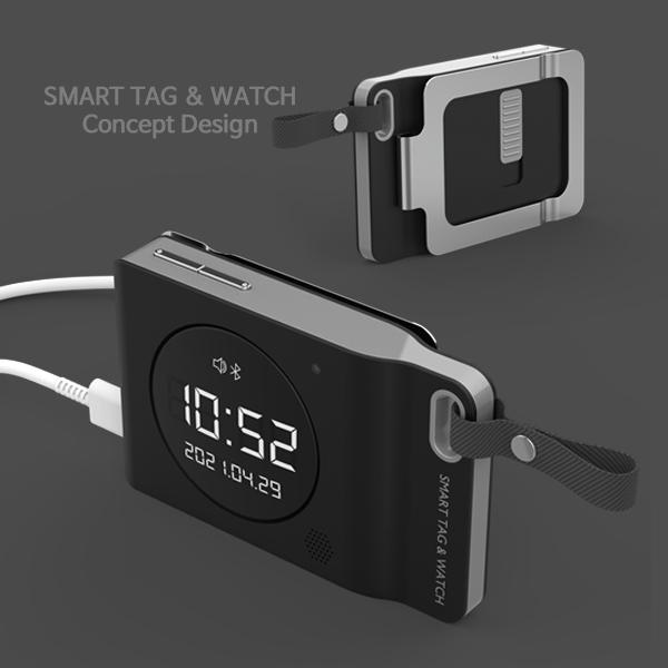 제품 | 휴대용 미니 알람시계 (+트래커기능) _ 제품 디자인 의뢰 | 라우드소싱 포트폴리오