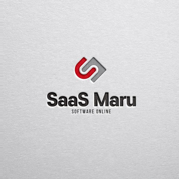 로고 | SaaS Maru 브랜드 로고 디자인 | 라우드소싱 포트폴리오
