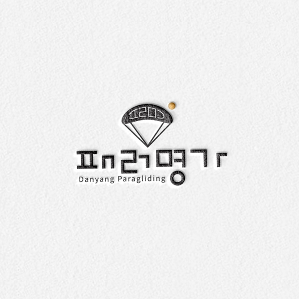 로고 + 명함 | 패러글라이딩 로고 디자인 | 라우드소싱 포트폴리오