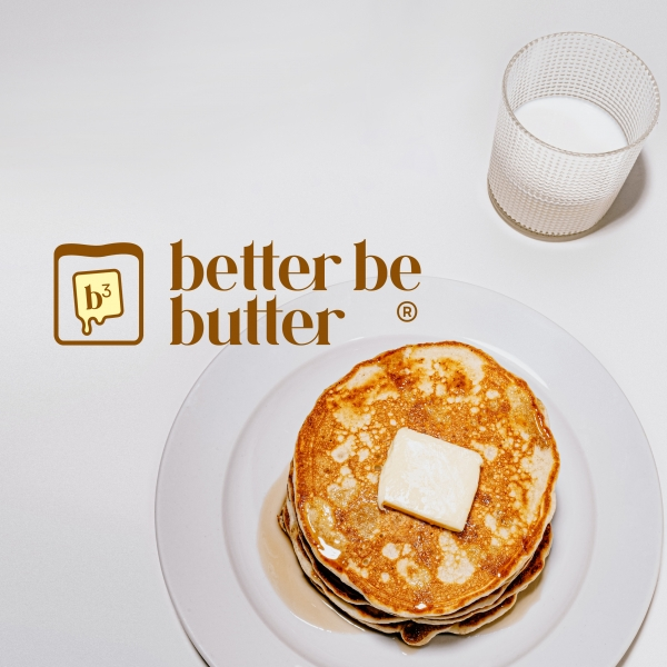 | 카페 'better be butter' 로고 및 간판 디자인 의뢰 | 라우드소싱 포트폴리오
