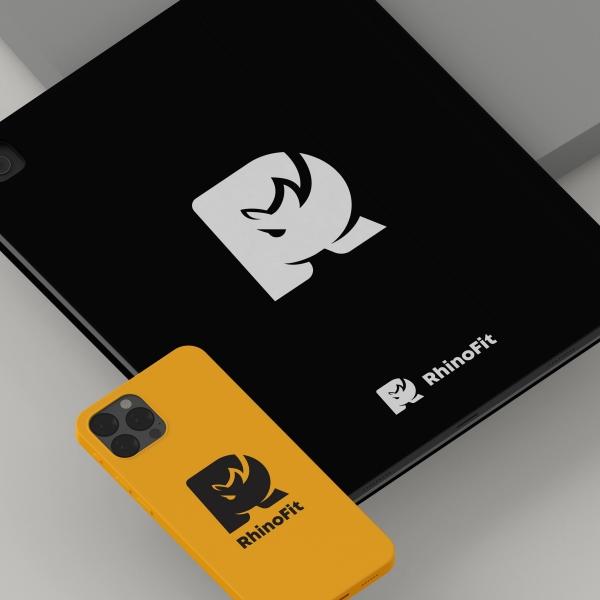 로고 + 명함 | RhinoFit 로고 디자인 의뢰 | 라우드소싱 포트폴리오