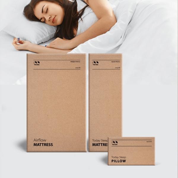 패키지 | 바르다 매트리스 및 베개 패키지 컨셉디자인 | 라우드소싱 포트폴리오