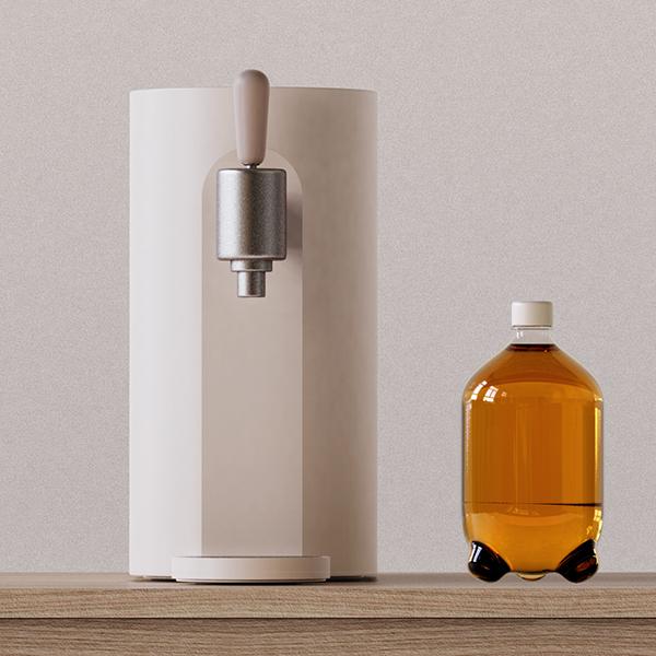 제품/3D   <생맥주 구독 서비스 : 가정용 생맥주 기계 제품>   라우드소싱 포트폴리오