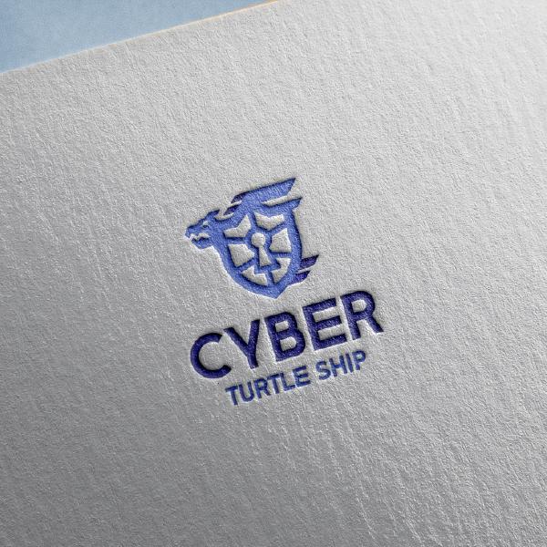 로고 | 사이버 거북선 브랜드 로고 디자인 의뢰 | 라우드소싱 포트폴리오