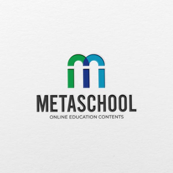 로고 + 명함 | 메타스쿨 로고 디자인 의뢰 | 라우드소싱 포트폴리오