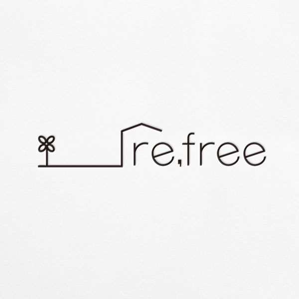 로고 + 명함 | 리프리(re,free) 브랜드 로고 디자인 의뢰 | 라우드소싱 포트폴리오