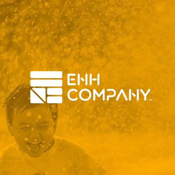 브랜딩 SET | 이앤에이치컴퍼니 기업 로고 (CI) 디자인 의뢰  | 라우드소싱 포트폴리오