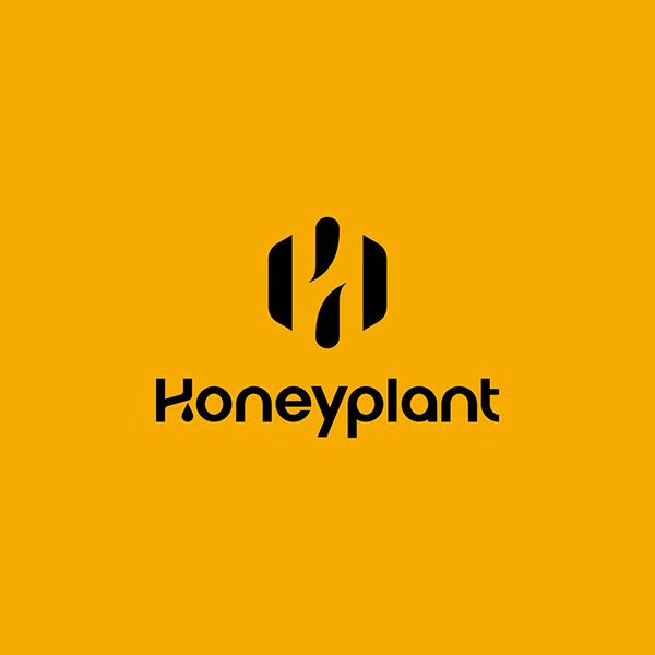 로고 + 명함 | 허니플랜트 로고 디자인 의뢰 | 라우드소싱 포트폴리오