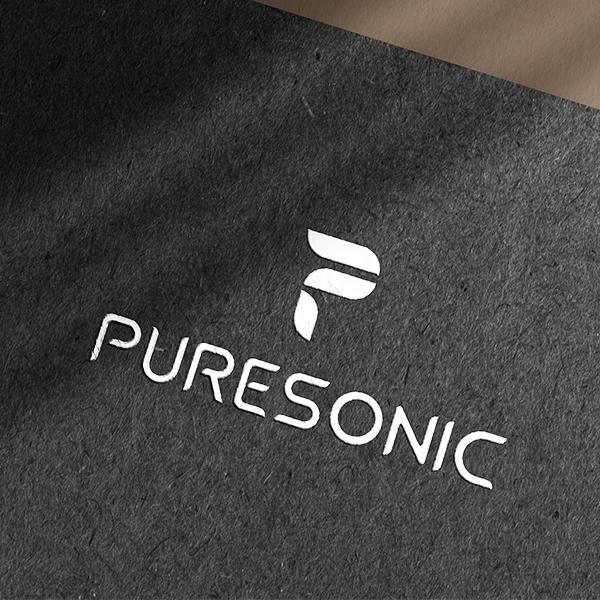 로고 | 퓨어소닉 로고 디자인 의뢰 | 라우드소싱 포트폴리오