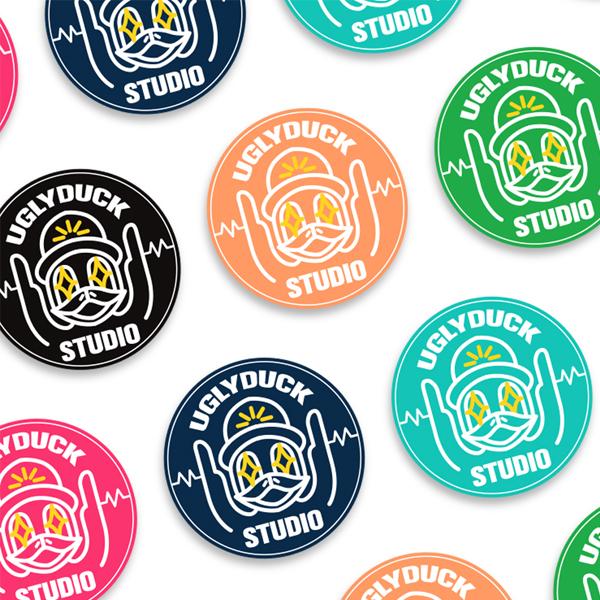 로고 + 명함 | UGLYDUCK STUDIO 로고&명함 디자인 의뢰 | 라우드소싱 포트폴리오