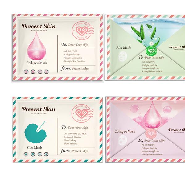 라벨(파우치)   화장품 마스크팩 디자인   라우드소싱 포트폴리오