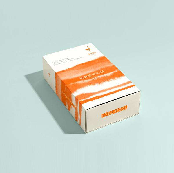 라벨 + 박스 | 기운 한 모금, 홍삼명주 선물세트 디자인 패키지 | 라우드소싱 포트폴리오
