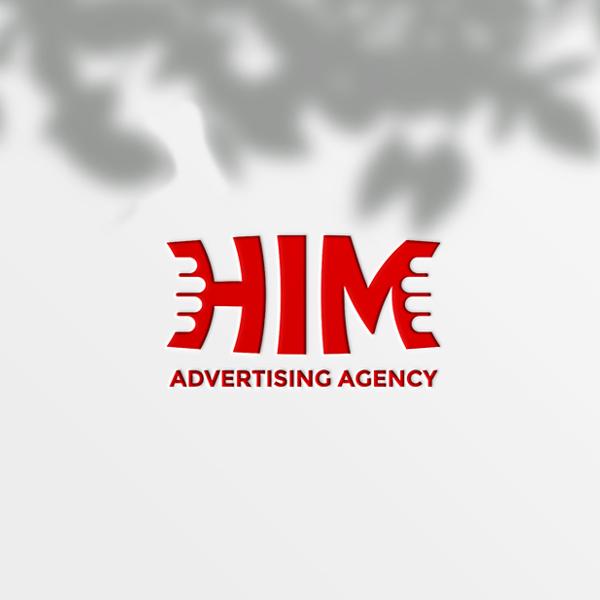 로고 + 명함   (주)HIM 로고디자인 의뢰   라우드소싱 포트폴리오