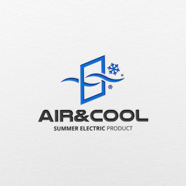 로고 | 여름용 전문가전 브랜드 로고 | 라우드소싱 포트폴리오