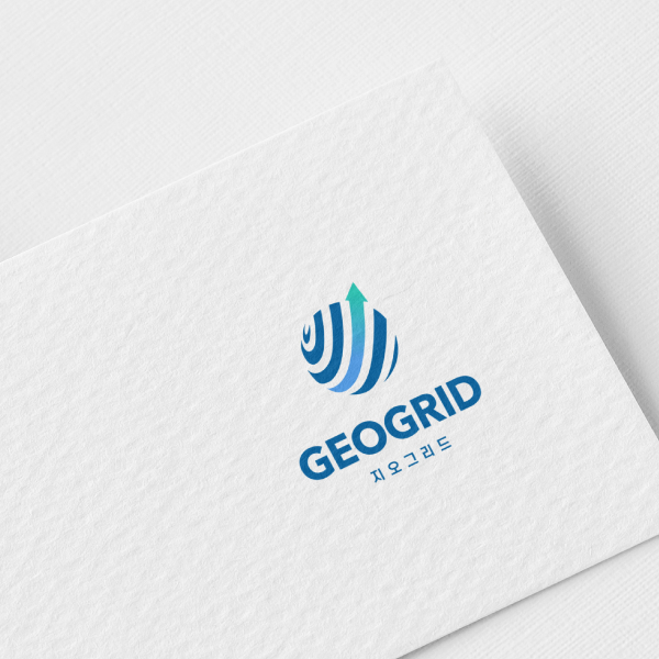 로고 | 지오그리드 로고 디자인 | 라우드소싱 포트폴리오