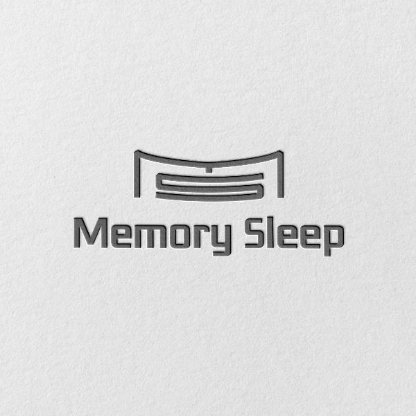 로고 + 명함 | 메모리슬립(MemorySleep) 로고 및 명함디자인 의뢰 | 라우드소싱 포트폴리오