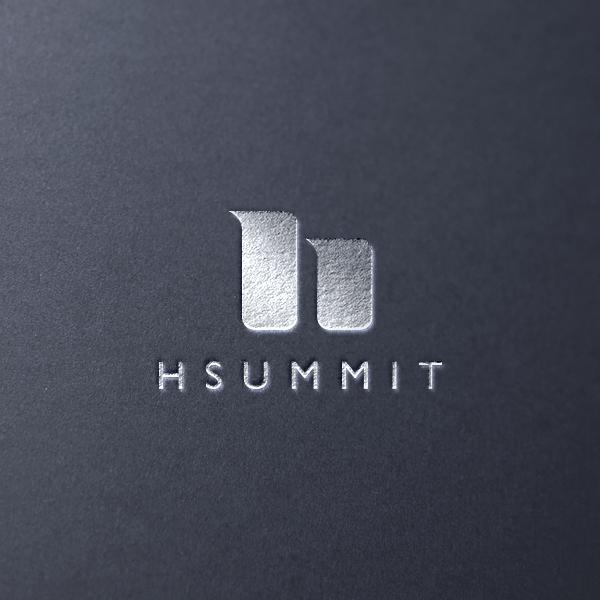 로고 | 부동산개발회사 HSUMMIT 로고+명함 디자인 | 라우드소싱 포트폴리오