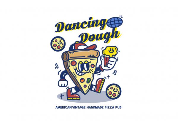   피자집 로고 디자인 의뢰   라우드소싱 포트폴리오
