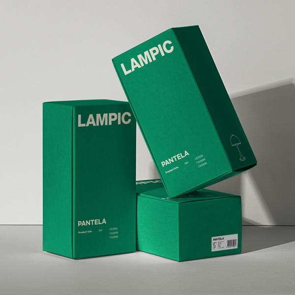   조명 전문 브랜드 박스패키지 디자인 요청합니다.   라우드소싱 포트폴리오