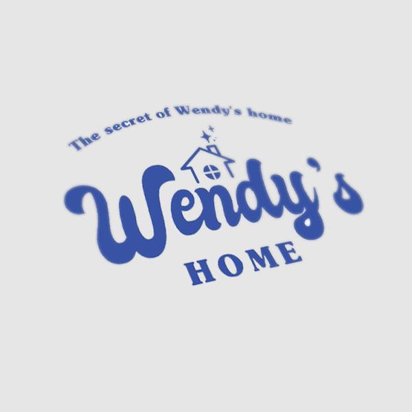   생활용품 브랜드 '웬디스홈(Wendy's home)' 로고디자인 의뢰   라우드소싱 포트폴리오