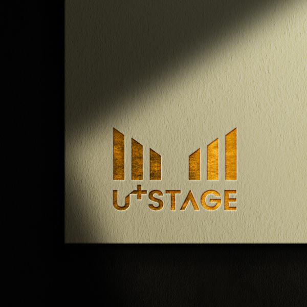 로고 + 채널아트 | LGU+ 문화예술 서비스 U+스테이지 로고 및 채널아트 디자인 | 라우드소싱 포트폴리오