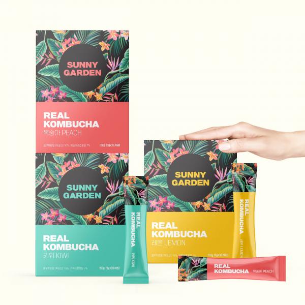 라벨 + 박스 | 콤부차 패키지 컨셉디자인 | 라우드소싱 포트폴리오
