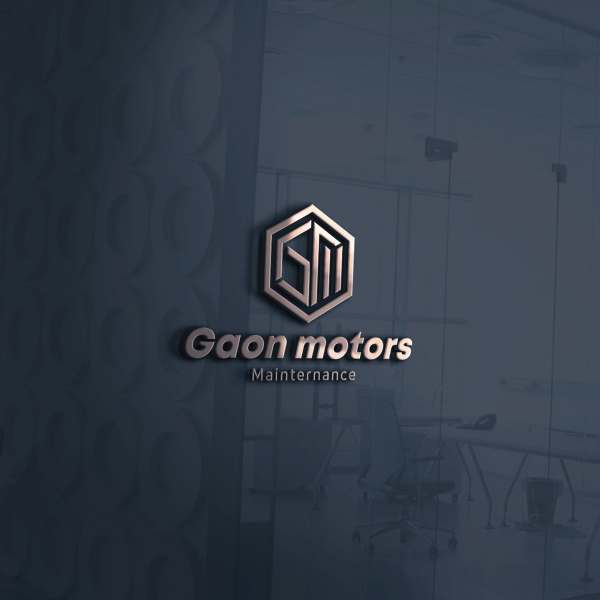로고 + 간판 | 가온모터스 로고 및 간판 디자인 의뢰 | 라우드소싱 포트폴리오