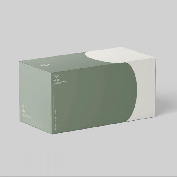 박스(상자) | 뷰한의원 박스 디자인 의뢰 | 라우드소싱 포트폴리오