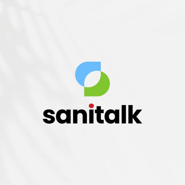 로고 + 명함 | (주)세니톡 로고 및 명함 디자인 의뢰 | 라우드소싱 포트폴리오