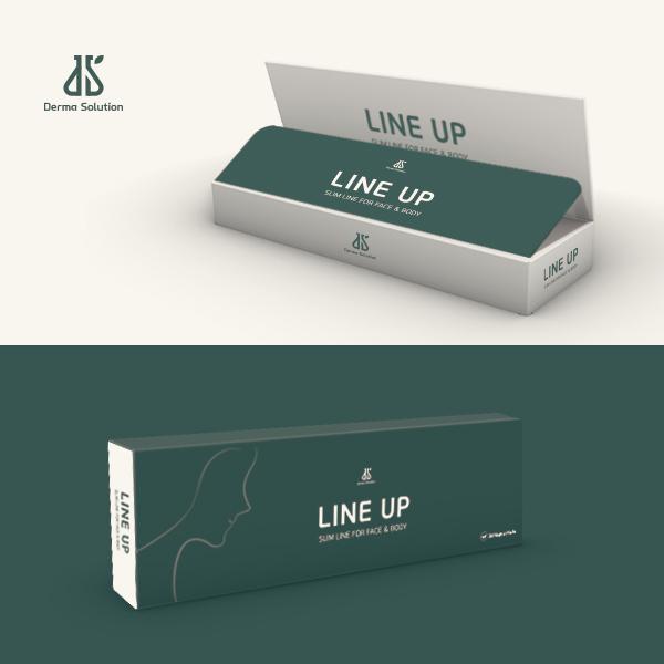 라벨 + 박스 | 라인업 윤곽주사 패키지 | 라우드소싱 포트폴리오