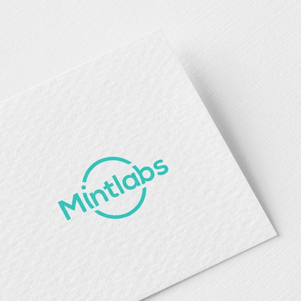 로고 | Mintlabs Ai 소프트웨어 업체 로고 디자인 | 라우드소싱 포트폴리오