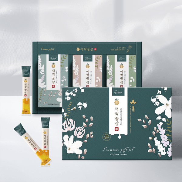 라벨 + 박스 | 꿀스틱 패키지 디자인 의뢰 | 라우드소싱 포트폴리오